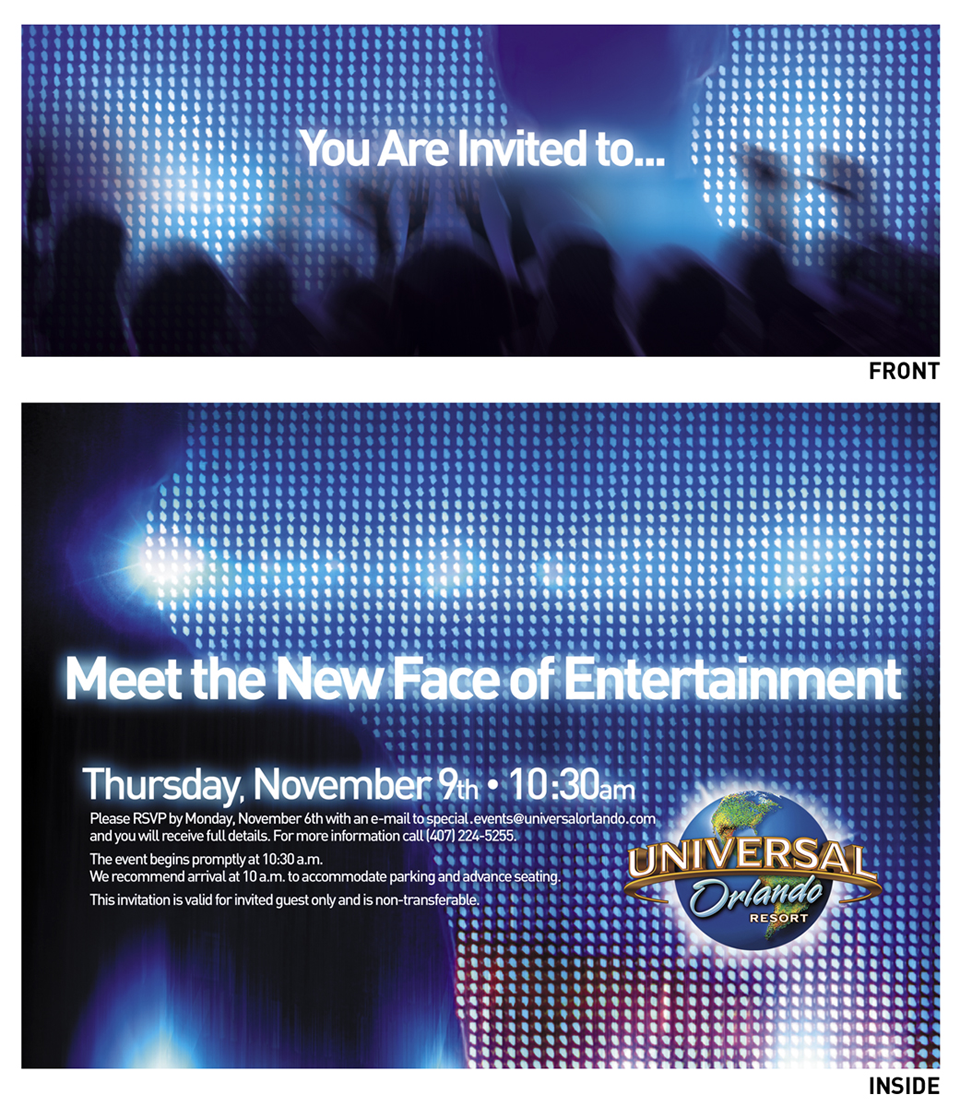 Universal Orlando Florida, Universal Studios, Blue Man Group